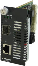 10GBase-T Managed Media Converter-Modul