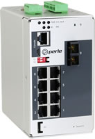 Industrieller Ethernet-Switch mit 9 Ports