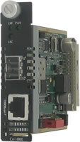 Gigabit SFP Managed Media Converter Module